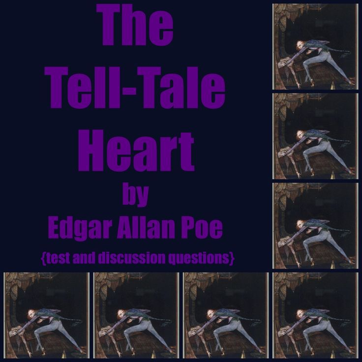 The Tell-Tale Heart. INCLUDED IN THIS UNIT ARE THE FOLLOWING: ➢ A PDF copy of the story with paragraph numbers. A PDF copy of the test. ➢ 26 multiple-choice questions and answers. ➢ Six essay questions along with detailed teacher notes/suggested answers. These questions vary as to difficulty and are aligned with many of the CCSS - see unit for details $