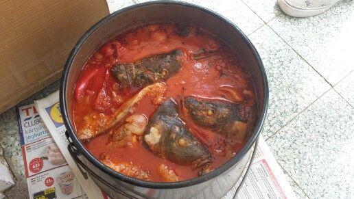 Original Fish Soup.Halaszle