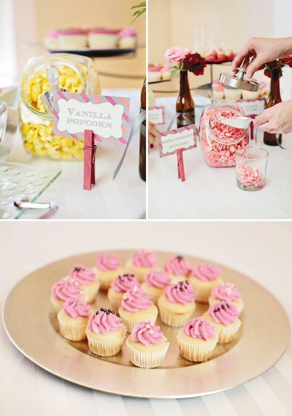 Beer & Bra Bachelorette Party // Hostess with the Mostess®... Great theme, love the clothes pins as card holders