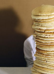 Performance Document: Self Portrait with Pancakes, 2003-06 - SARA GREENBERGER RAFFERTY