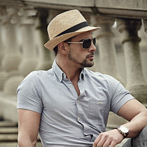 Fedora Hat Indiana Jones Hat Trilby Hat Sun Hat Vintage Hats Fedora Hats for Men