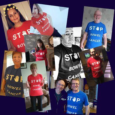 Bowel Cancer Fundraising: STOP Bowel Cancer Fundraising T-Shirts