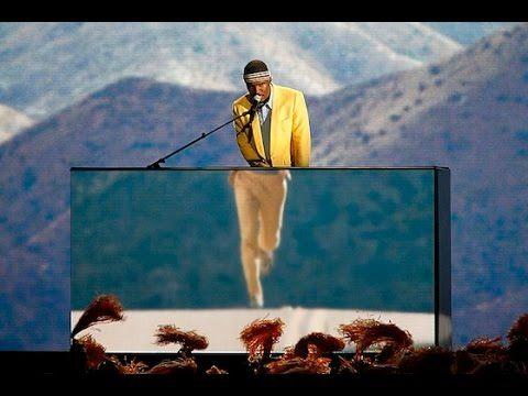 Frank Ocean - Forrest Gump - Grammys HD - YouTube
