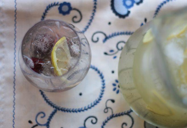 limonada de albahaca