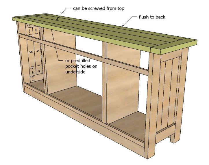Plans To Build A Sideboard ~ Sewing cabinet plans instructions woodworking projects