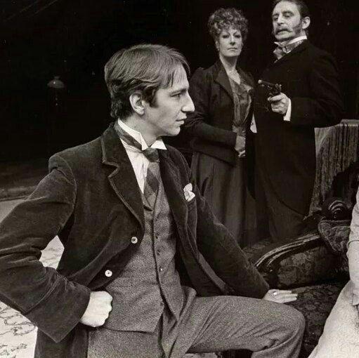 Alan Rickman as Sherlock Holmes