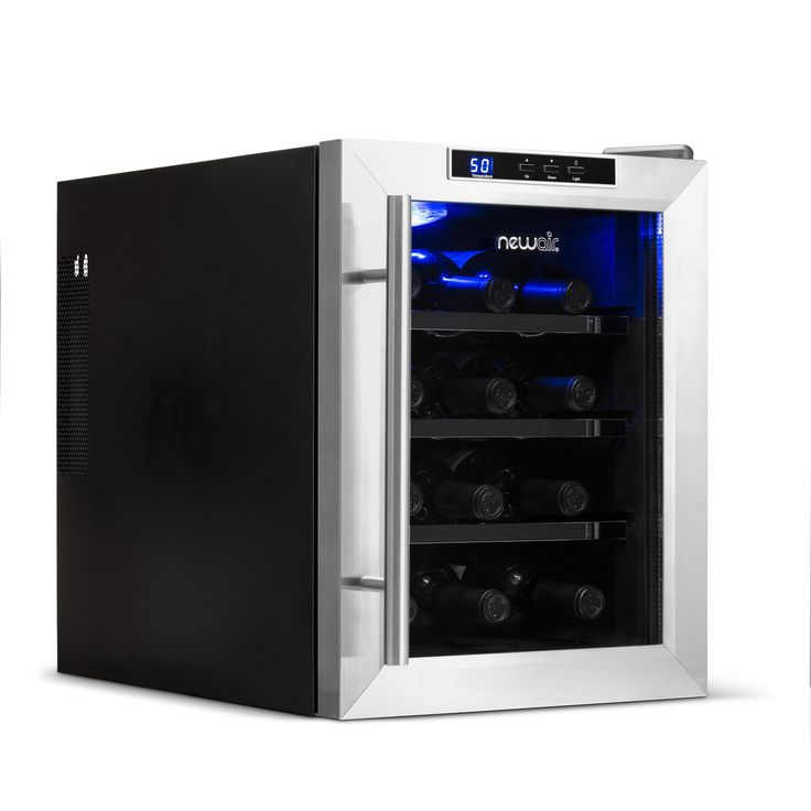 Blemished 12 Bottle Countertop Thermoelectric Wine Cooler In 2020 Thermoelectric Wine Cooler Wine Fridge Best Wine Refrigerator
