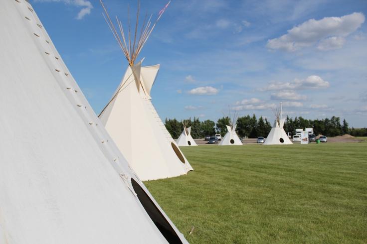 The Beautiful First Nations University of Canada grounds for ADL 2012 - Regina Saskatchewan  Photo By: APTN
