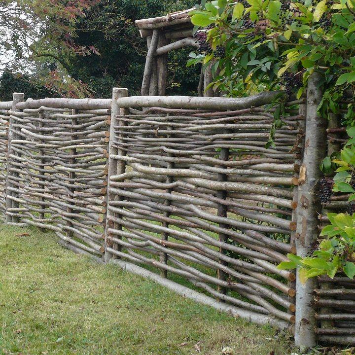 wattle fencing ideas