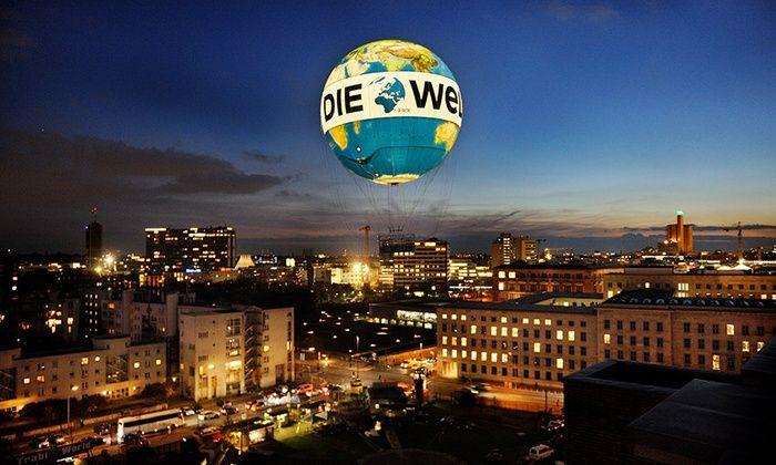 Air Service - Fesselballon Berlin Weltballon: 1 Ticket für den Berlin Weltballon in Mitte vom Air Service in Berlin  23E