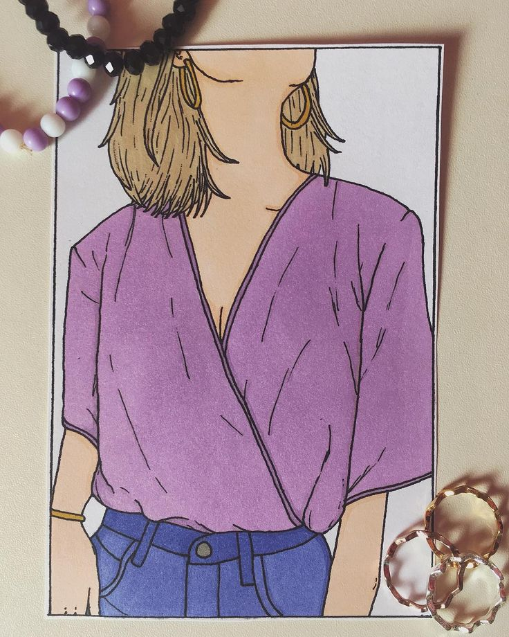 Darling don't ever be too shy to dance your heart out... Audrey Hepburn  #drawing #girl #simple #hobby #faceless #fashion #fashiondrawing #happiness #joy #smallthings #art #artist #cartoonstyle #shorthair #blonde #delicate #feminine #feminity #instaart #ilustration #myart #mystyle #copicmarkers #pinkblouse #jeans