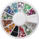 Nail art wheel fimo figures