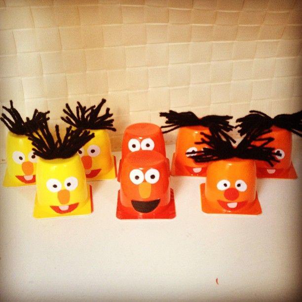 Bert, Ernie & Elmoo Danoontjes