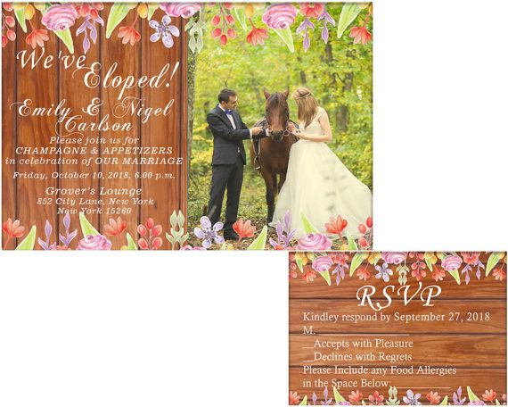 Hey, I found this really awesome Etsy listing at https://www.etsy.com/listing/519606407/weve-eloped-elopement-wedding