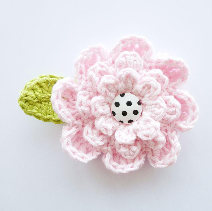 Crochet Flower. Free pattern.