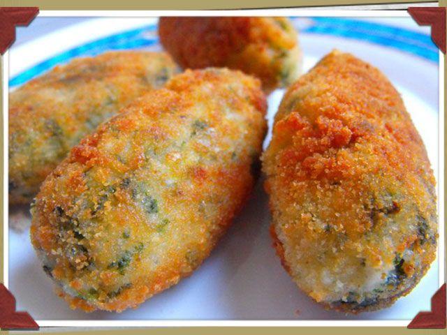 @MariaPerolas  Croquetas de arroz y acelgas