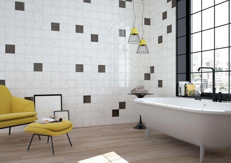 18 besten Fliesen im Badezimmer Bilder auf Pinterest Badezimmer - badezimmer 50er jahre
