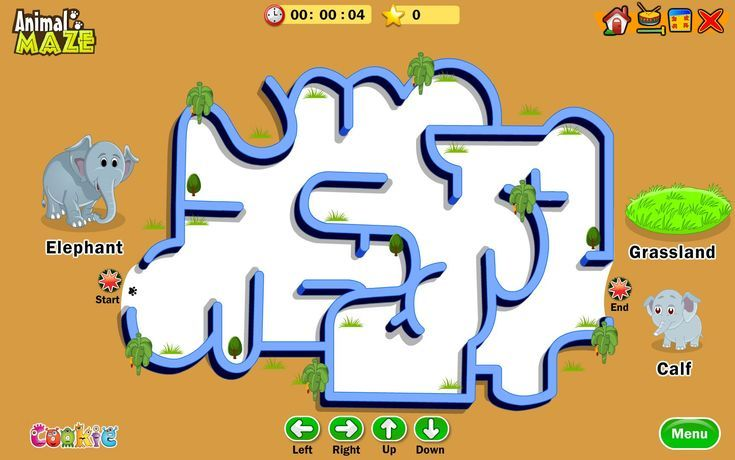 25 Free Online Mazes Games for the Preschooler Up to the 5th Grader: Easy Online Mazes
