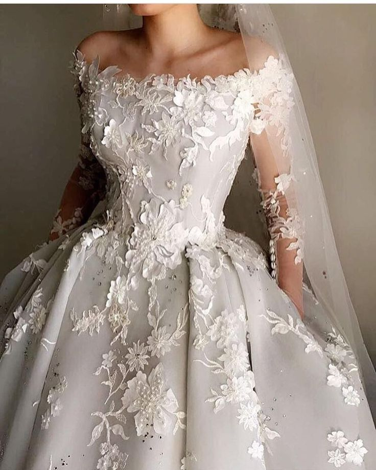 Wedding Gown Can Can: This Off The Shoulder Ball Gown Style Wedding Dress Can Be