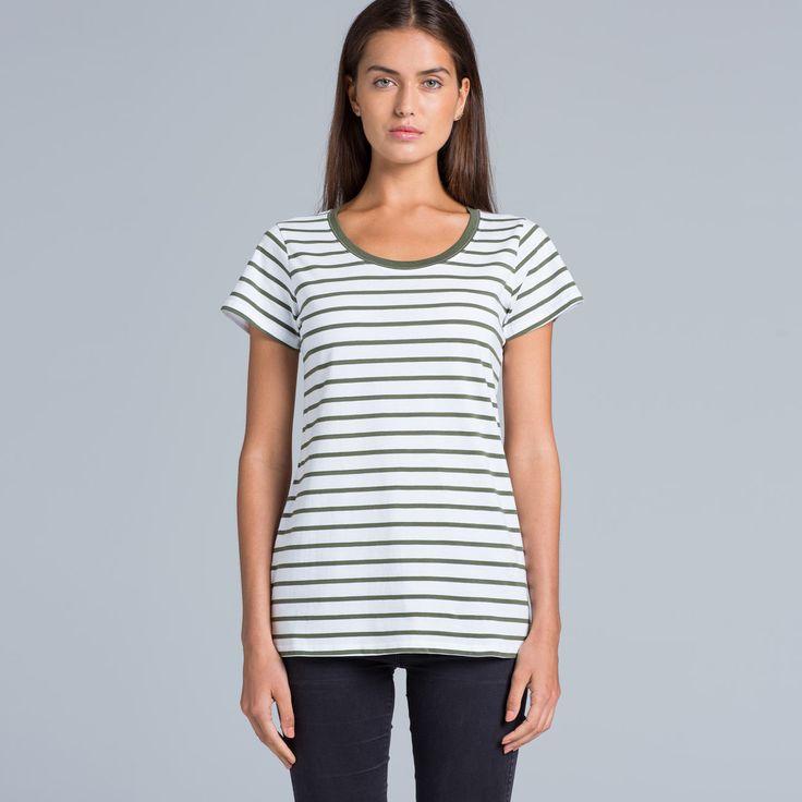 4023 Loop Stripe Tee - AS Colour