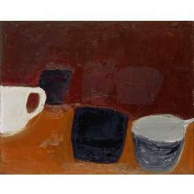 William Scott - still life with white mug