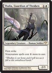 Thalia, Guardian of Thraben MtG Magic the Gathering card