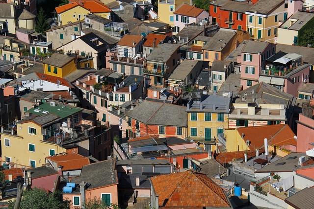 rooftops, Monterosso al Mare (Cinque Terre) by Cinque Terre Trekking, via Flickr