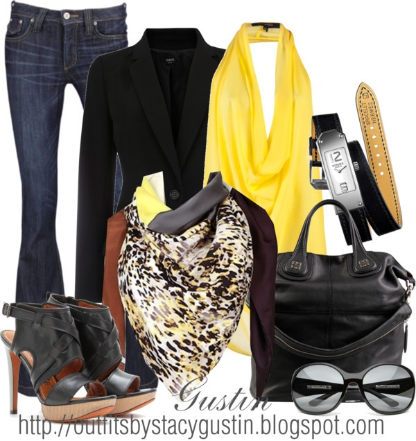 """animal scarf"" by stacy-gustin ❤ liked on PolyvoreDates Night Outfit, Stacygustin, Blue Jeans Outfit, Animal Scarf, Blue Jean Outfits, Scarves, Style Polyvore, Stacy'S Gustin, Date Night Outfits"