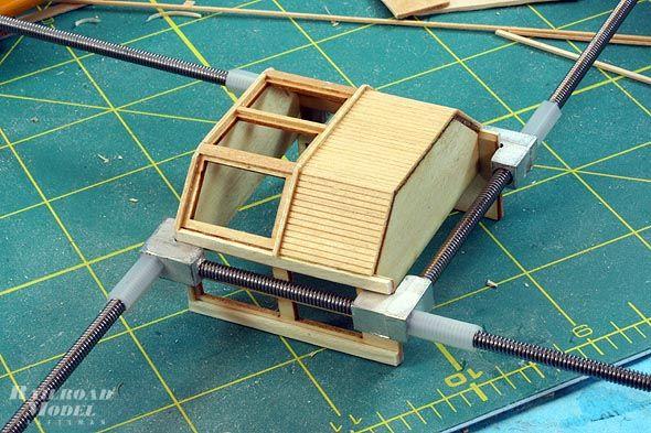 Model Railway Building Clamps