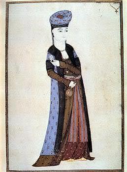Circa 1720, Woman in Winter Outfit, by Abdullah Buhari