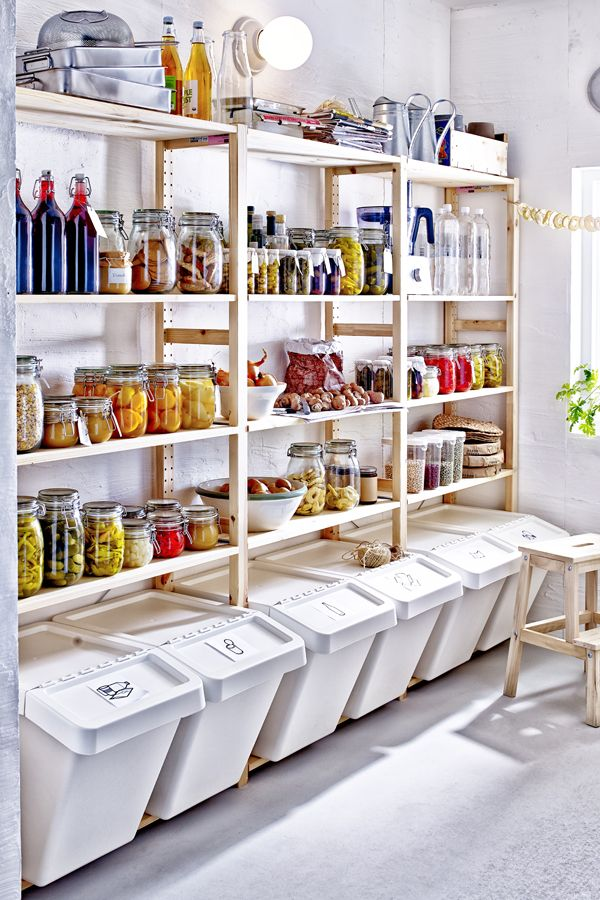 Shopping for a big holiday meal? Plan your grocery list ahead of time so you can maximize pantry space with shelving and containers. Click to check out more IKEA ideas in our Holiday Prep Guide!