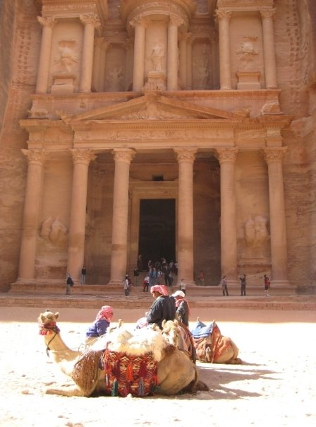 #PotentialistCanada .....I remember reading about the discovery of Petra in National Geographic Magazine in the early 90's and here I am in 2008, fulfilling my dream of seeing it in person.