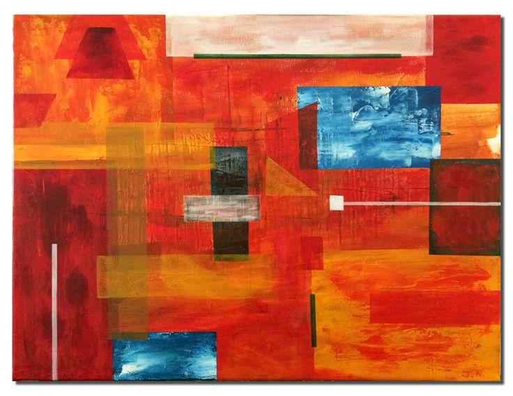 Abstract #3, Acrylic on Canvas #art #abstractart #modernart #visualarts