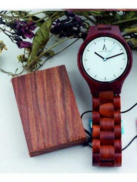 Kreative hölzerne Armbanduhr - ALK VISION Artikel-Nr.:  DH00012 -White Dial Female Zustand:  Neuer Artikel  Verfügbarkeit:  Auf Lager  Elegante hölzerne Uhr mit einem einzigartigen Design. Geschenk fit für einen Mann und eine Frau. Uhren sind aus natürlichen Materialien, ohne künstliche Farbstoffe