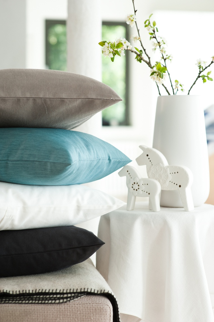 © stylus.pl   #home #inspiration #curtain #decor #pillows