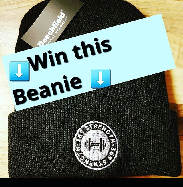 Competition Time  To WIN this Black Beanie 1) Like the Post 2) Follow us  3) Post/Tag a Training Partner/Friend  Result will revealed 09/02/18  #beaniehat #beanieseason #365strength #365clothing #gymapparel #gymlife #whentrainingislife #vikingpower #beastmode #fitnessapparel #crossfitapparel #bodybuildingapparel #olympicliftingapparel #powerliftingapparel #strongmanapparal #parkour #parkourapparel