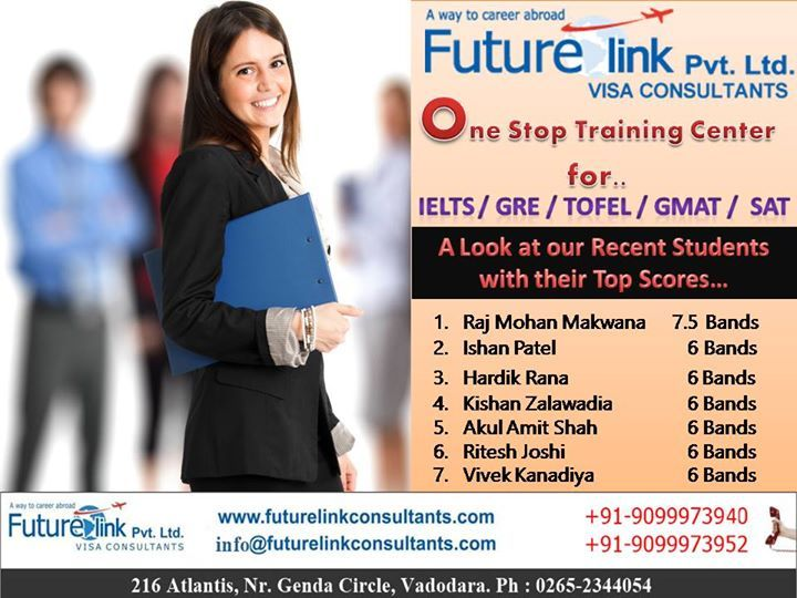 Futurelink Visa Consultants Pvt. Ltd Wishes a great success to all the achievers...  To Know More, Visit us at : www.http://www.futurelinkconsultants.com/  Call us now : 9099973940 / 9099973952