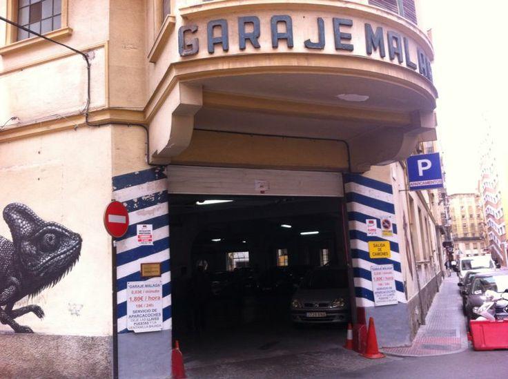 Parking Málaga | Calle de Barroso