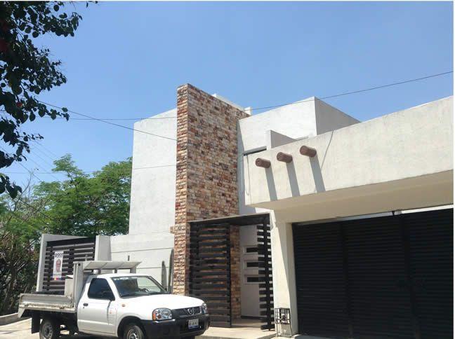 fachadas de casas modernas con piedra laja buscar con google