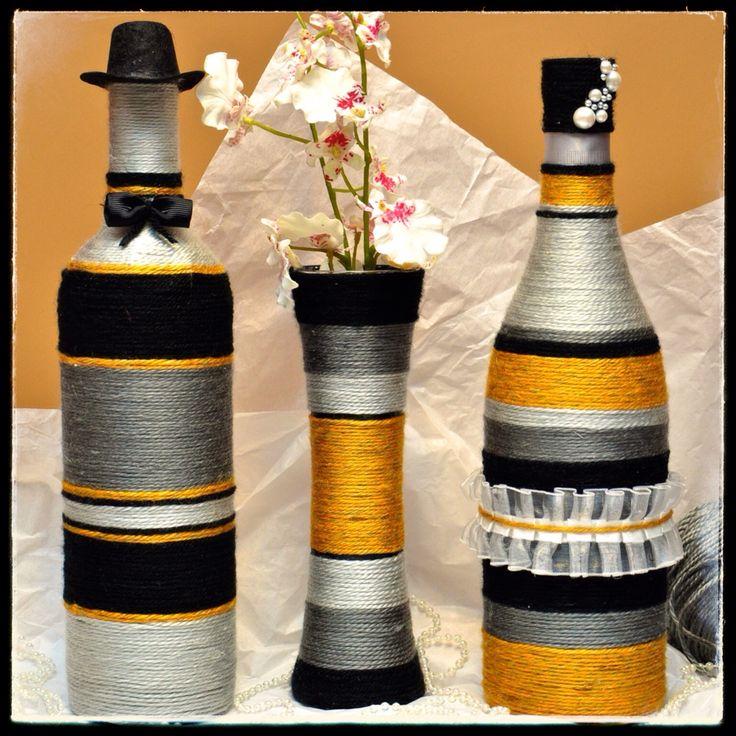 Yellow, Black and Grey Set