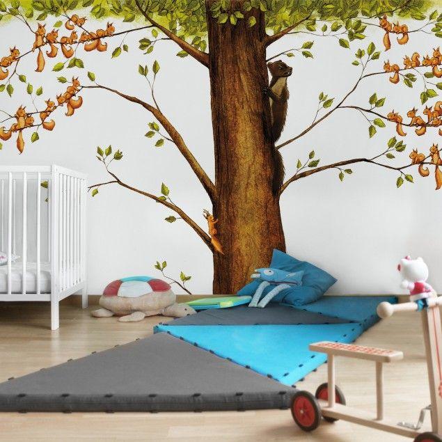 Ber ideen zu fototapete kinderzimmer auf pinterest - Kinderzimmer tapete ideen ...