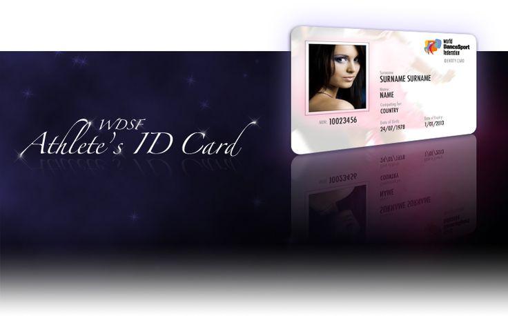 WDSF ID CARD https://www.worlddancesport.org/cards