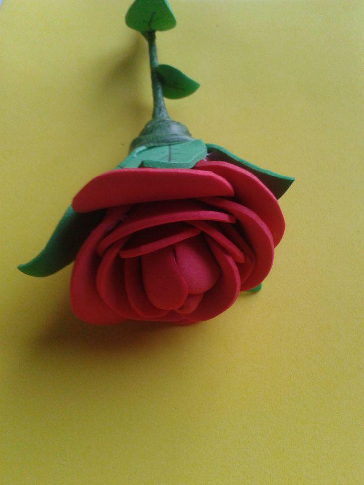 93 best images about flores de gomas on pinterest - Flores de goma eva ...