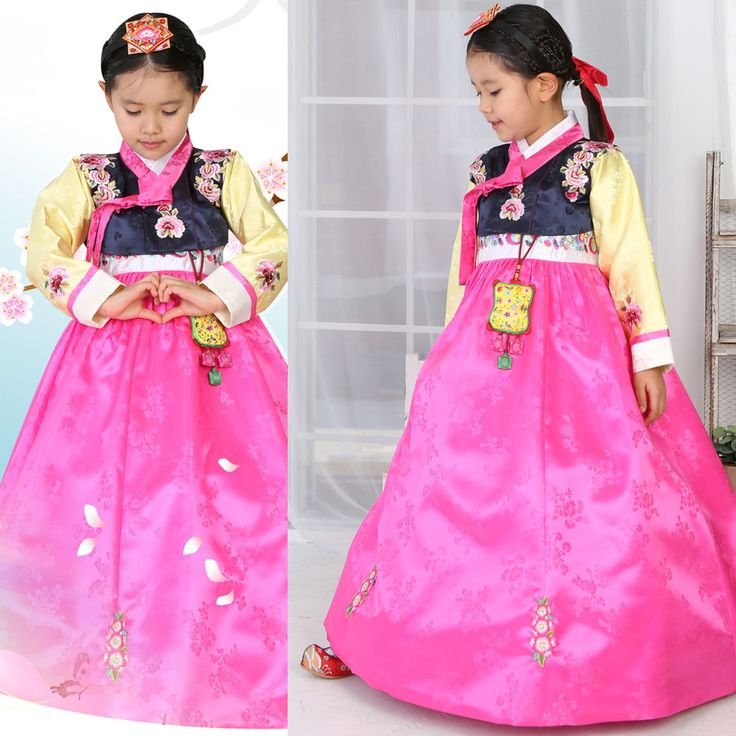 Girl Hanbok Baby Korean traditional clothes dress wedding Party Korea Women 4004 #FairyCloset #KoreanHanbokDress