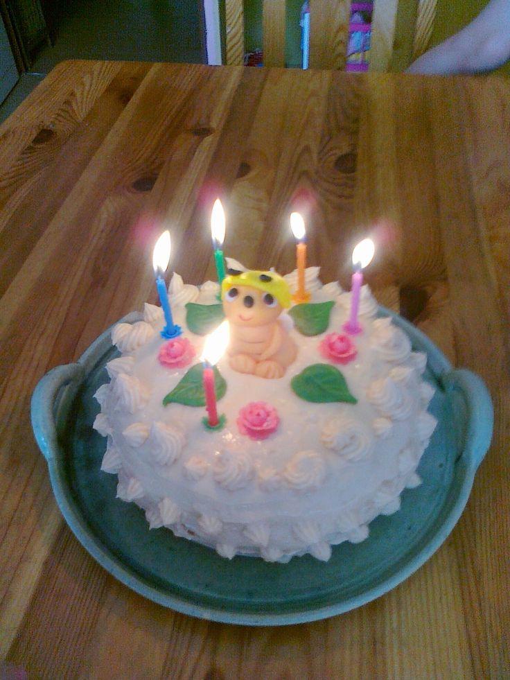 Bezlepkový narozeninový dort