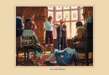 William Harvey 12x18 Giclee on canvas