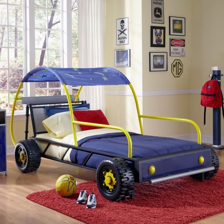 Powell Dune Buggy Twin Bed - 904-038