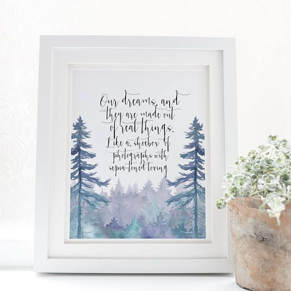 Our dreams and they are made out of real things - Better together lyrics - Jack Johnson - Boho Chic - Boho print - Jack Johnson Print