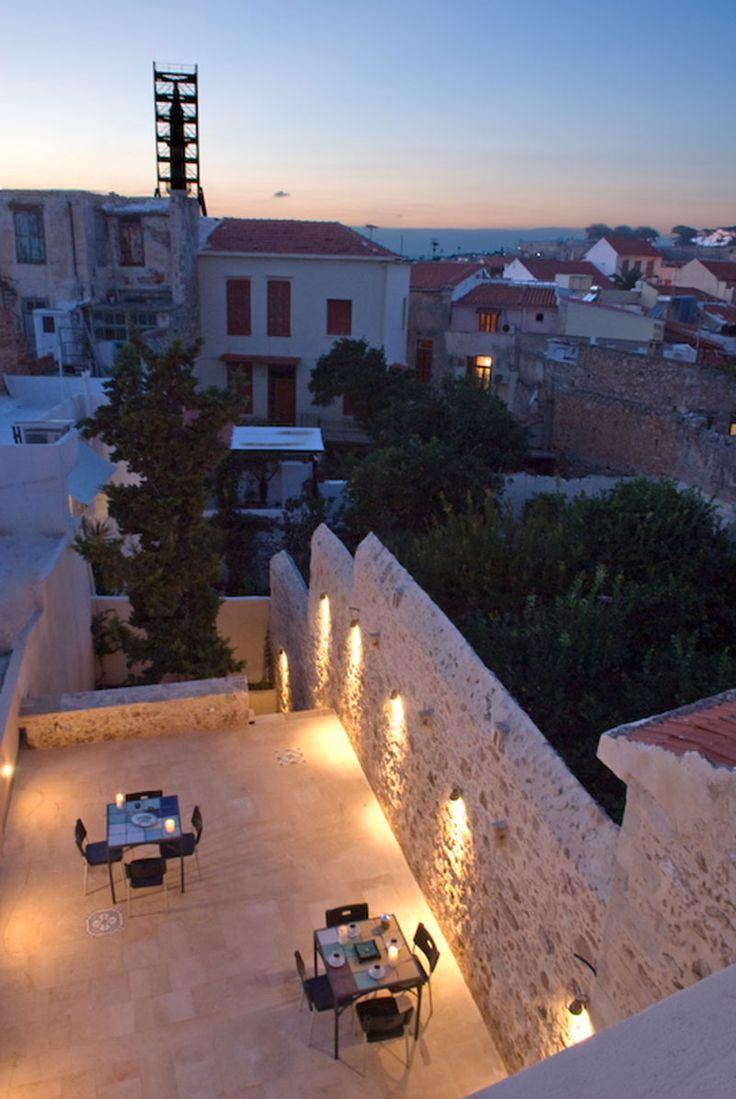 www.anassa-crete.gr Anassa Historical House #villa #historical_house #crete #rethymno #greece #vacation_rental #private #luxurious_accommodation #holidays #summer_in_Crete #veranda #outdoors #view