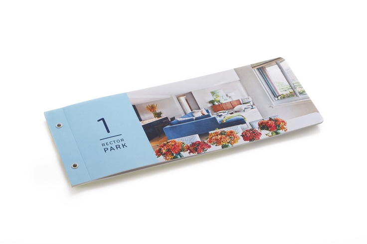 Great idea to have a property brochure stand out Several property - property brochure